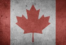drapeau canadien old fashion